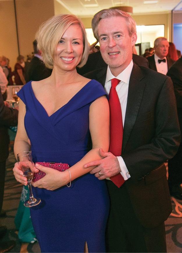 Julia Wellman and Jim Feldman