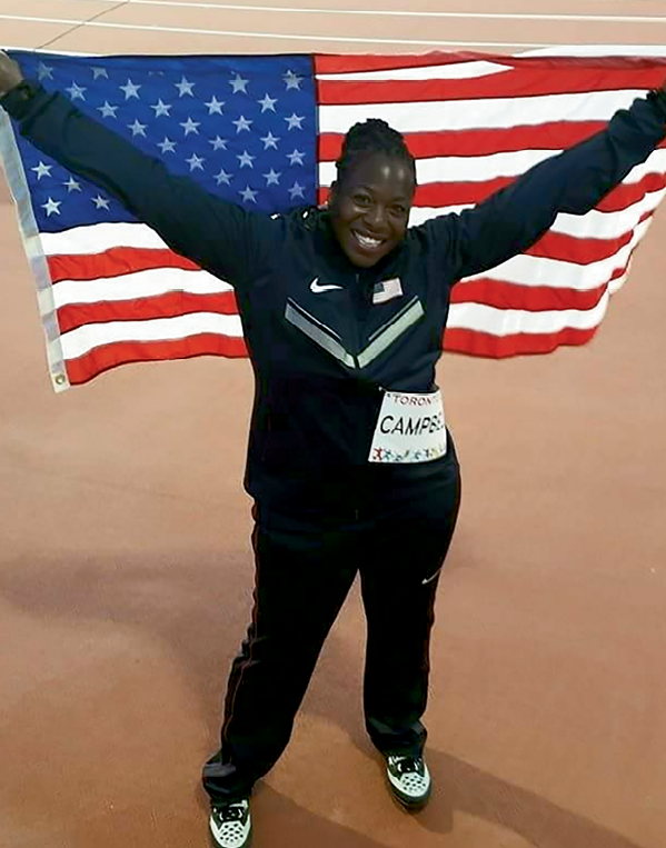 The Pan-Am silver medalist was proud to represent the United States.