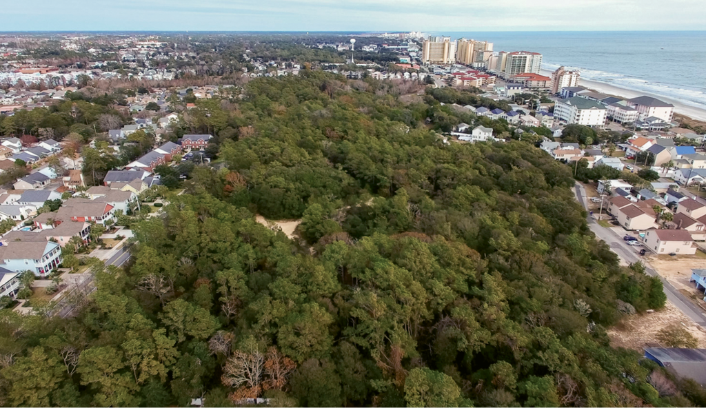 Ingram Dunes runs along Hillside Drive between 9th and 10th avenues south in North Myrtle Beach.