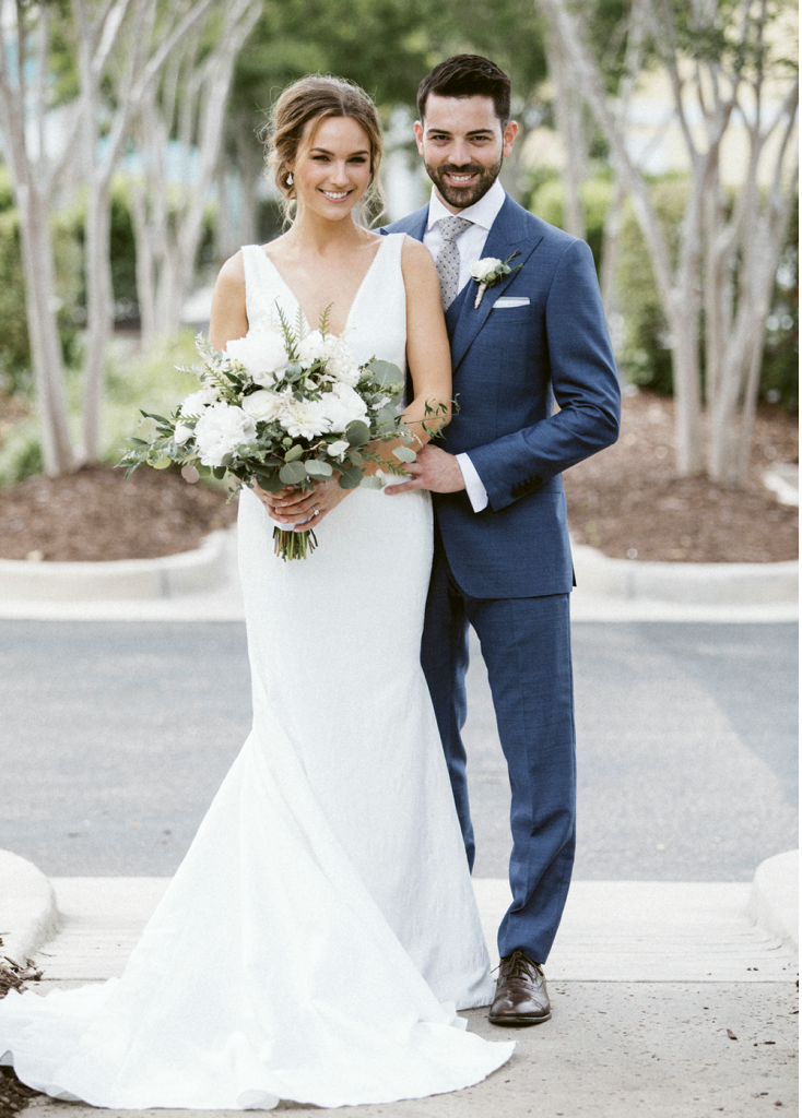 The bride wore Pronovias and the groom was clad in a suit by Suitsupply. Videography was provided by Hart to Heart Media.